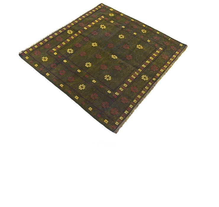 4' 4 x 4' 4 Sumak Square Rug