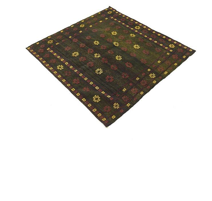 132cm x 137cm Sumak Square Rug