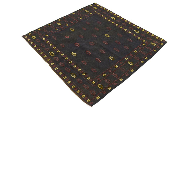 4' x 4' 2 Sumak Square Rug