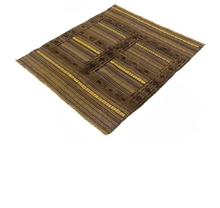 3' 4 x 3' 10 Sumak Square Rug