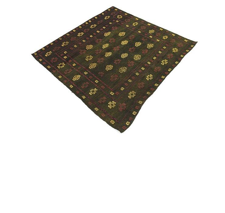 4' x 4' 6 Sumak Square Rug