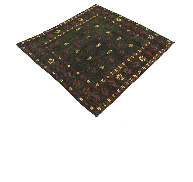 4' 3 x 4' 5 Sumak Square Rug