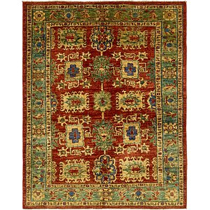 Unique Loom 5' x 6' 3 Kazak Rug