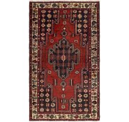 Link to 4' x 6' 8 Mazlaghan Persian Rug