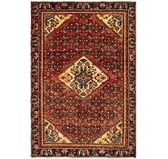 Link to 4' 6 x 6' 8 Hossainabad Persian Rug