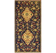Link to 4' x 8' 9 Hamedan Persian Runner Rug
