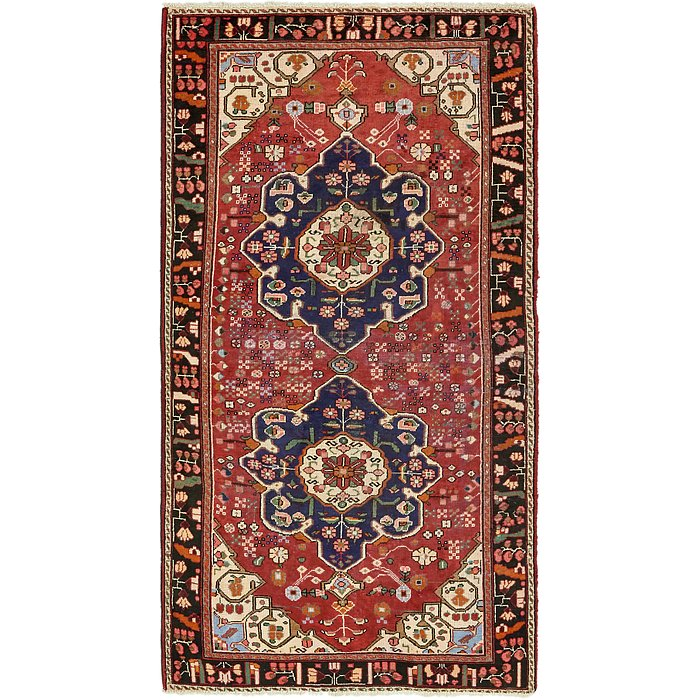 5' x 9' 10 Mahabad Persian Rug