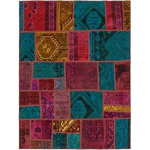 Unique Loom 5' 6 x 7' 4 Ultra Vintage Persian Rug