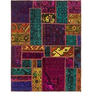 Unique Loom 5' x 6' 5 Ultra Vintage Persian Rug