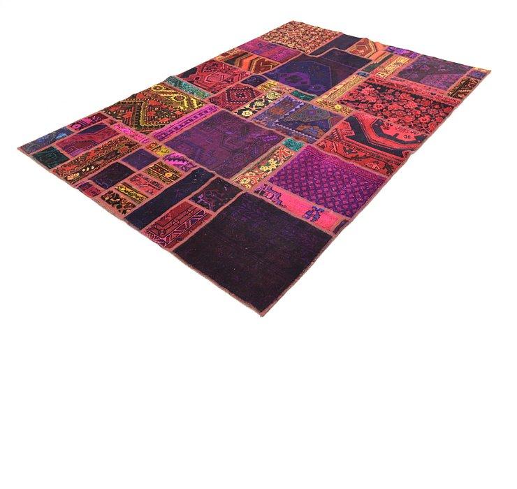 168cm x 250cm Ultra Vintage Persian Rug