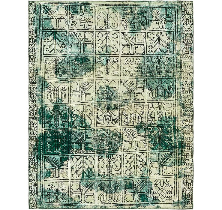 198cm x 255cm Ultra Vintage Persian Rug