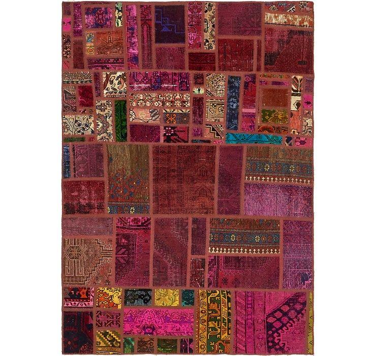 5' 7 x 7' 10 Ultra Vintage Persian Rug