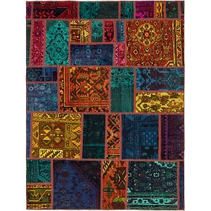 5' 2 x 6' 10 Ultra Vintage Persian Rug
