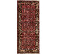 Link to 117cm x 290cm Hossainabad Persian Runner Rug