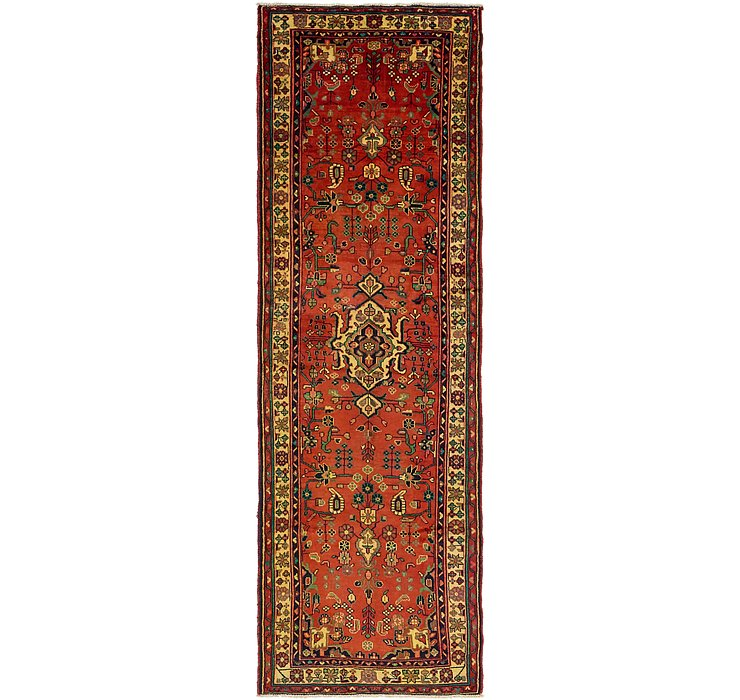 3' 7 x 11' 6 Hamedan Persian Runner ...
