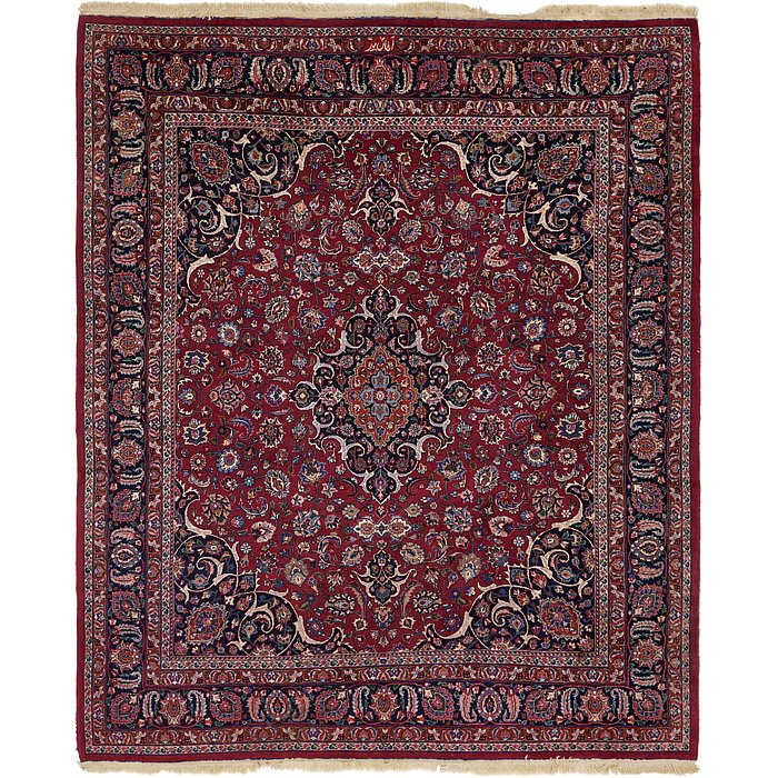 10' x 11' 7 Mashad Persian Rug