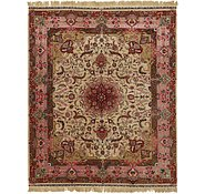 Link to 8' 2 x 10' 2 Tabriz Persian Rug