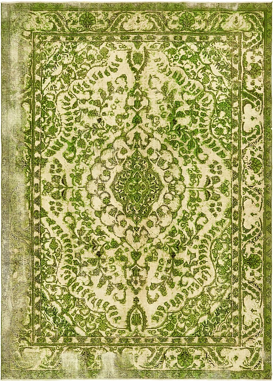 Green  8' x 11' 4 Ultra Vintage Persian