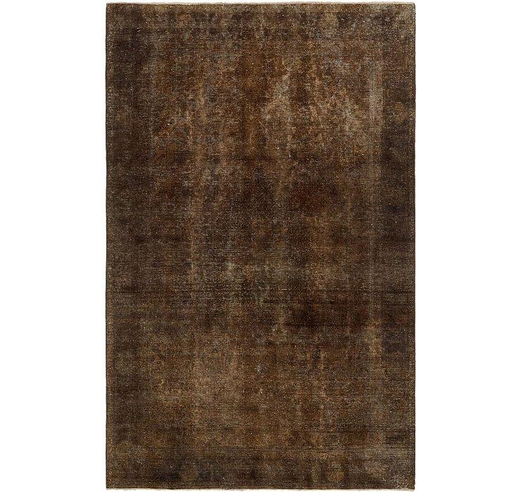 6' 7 x 10' 4 Ultra Vintage Persian Rug