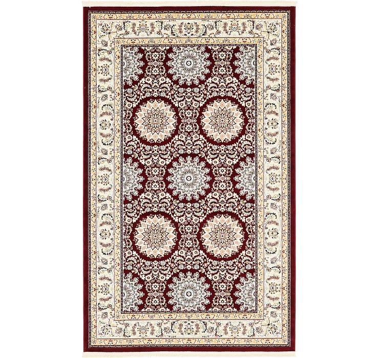 5' x 8' Tabriz Design Rug
