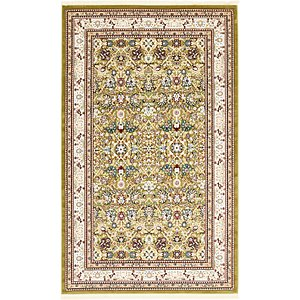 Unique Loom 5' x 8' 2 Tabriz Design Rug