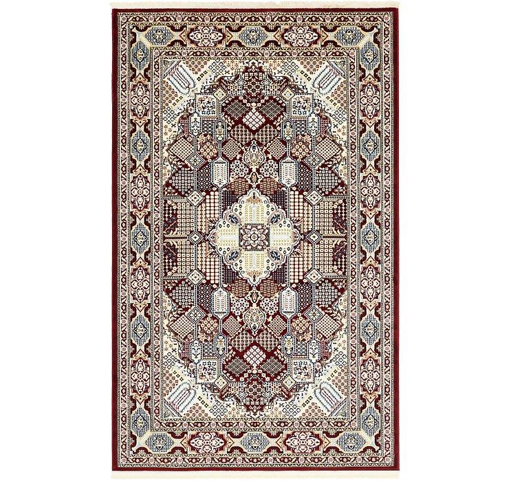5' x 8' 2 Tabriz Design Rug