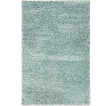 198x305 Luxe Solid Shag Rug
