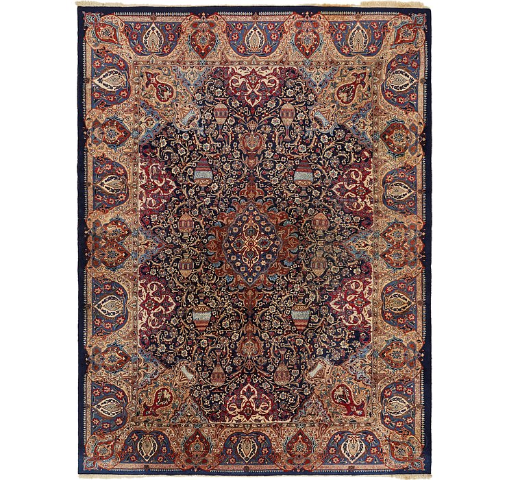 10' 2 x 13' 3 Kashmar Persian Rug