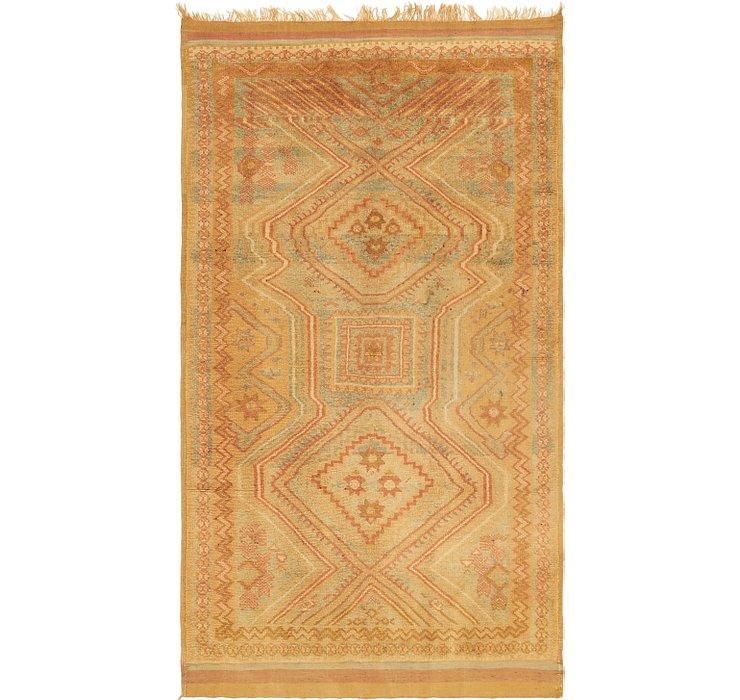 4' 4 x 7' 10 Moroccan Rug