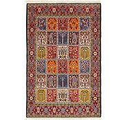 Link to 4' 5 x 6' 9 Qom Persian Rug