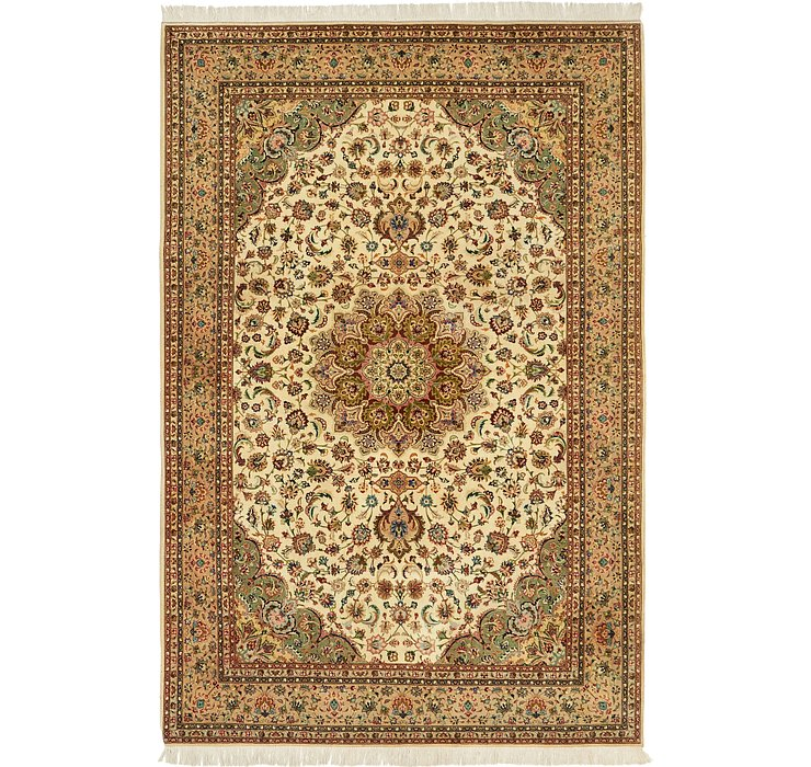 205cm x 310cm Tabriz Persian Rug