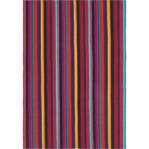 Unique Loom 4' 3 x 6' 3 Kilim Fars Rug