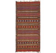 Link to 5' 5 x 10' 10 Kilim Fars Runner Rug