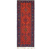 Link to 4' 2 x 11' Kilim Fars Runner Rug