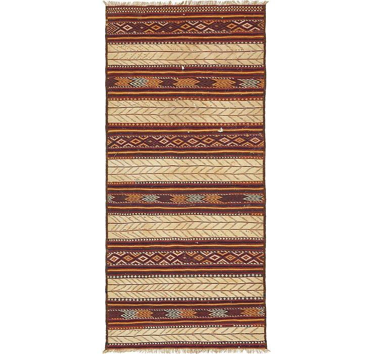 5' 10 x 12' 7 Kilim Fars Runner Rug