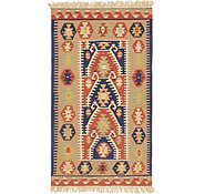 Link to 3' 5 x 6' Kilim Fars Runner Rug