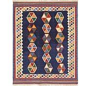 Link to 5' 5 x 6' 9 Kilim Fars Square Rug