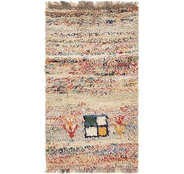 86x163 Moroccan Rug