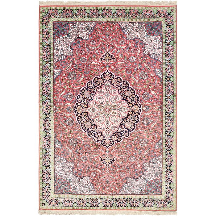6' x 9' 5 Kashmir Oriental Rug