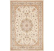 Link to 6' 6 x 9' 10 Mashad Design Rug