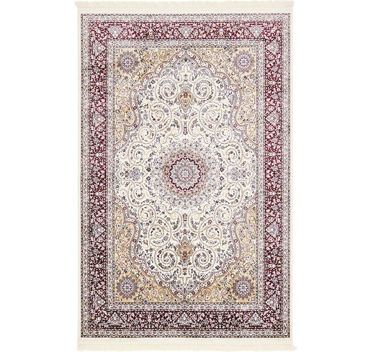 6' 4 x 9' 9 Tabriz Design Rug