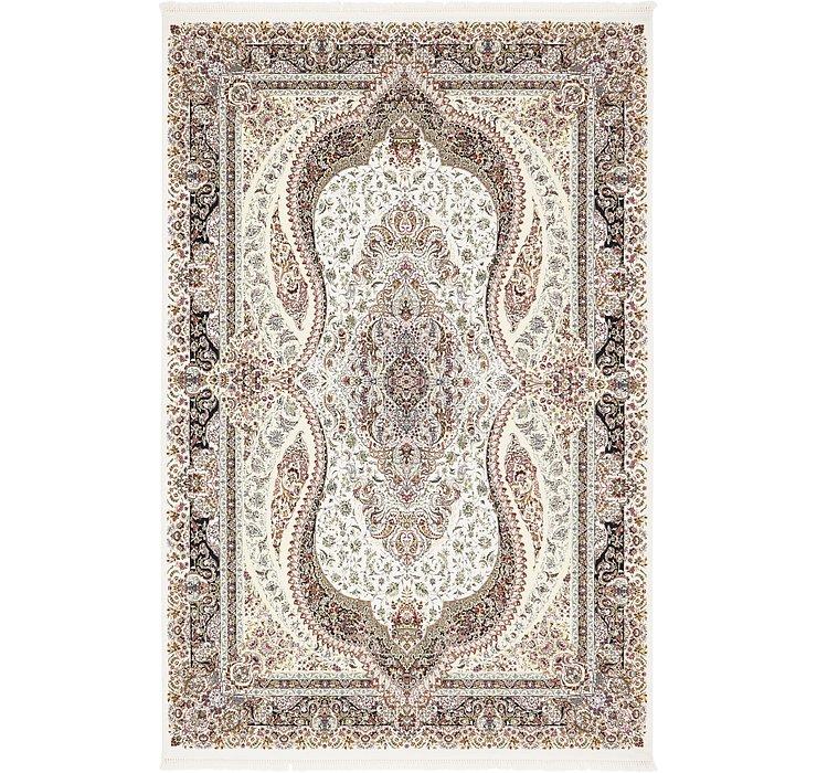 6' 7 x 10' Tabriz Design Rug