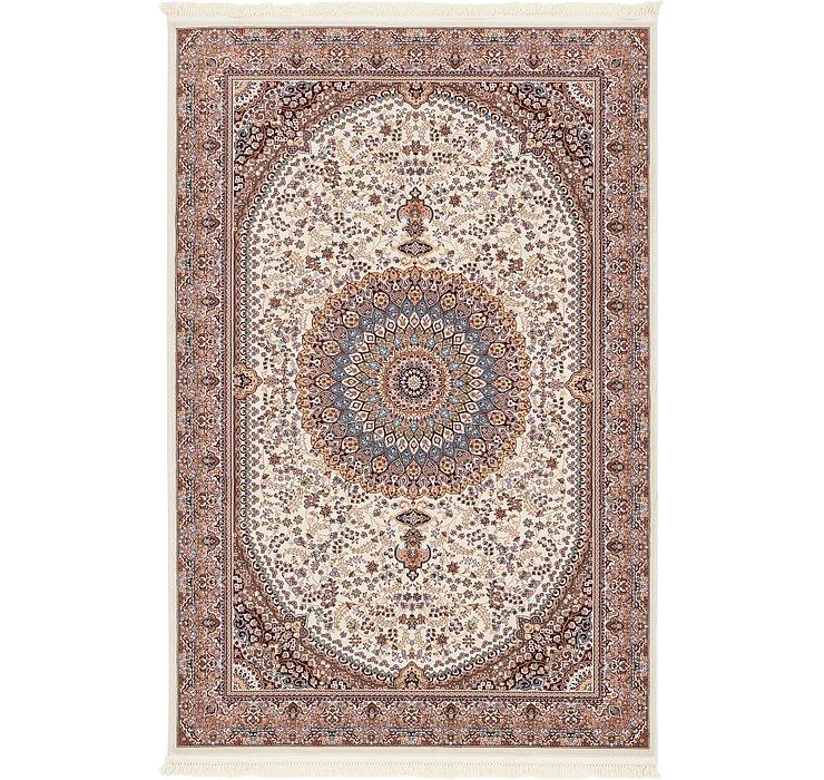 6' 4 x 9' 8 Tabriz Design Rug
