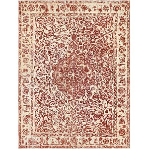 HandKnotted 9' 6 x 12' 10 Ultra Vintage Persian Rug