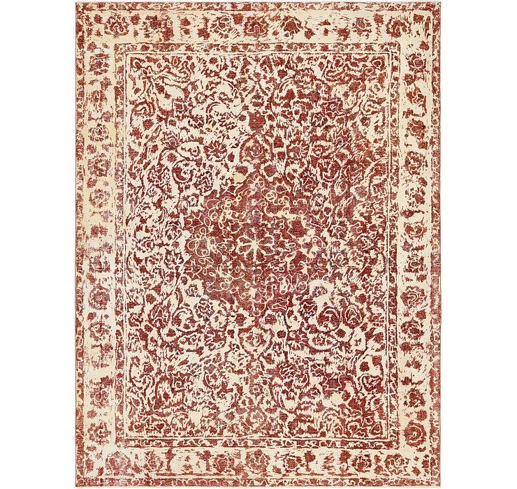 290cm x 390cm Ultra Vintage Persian Rug