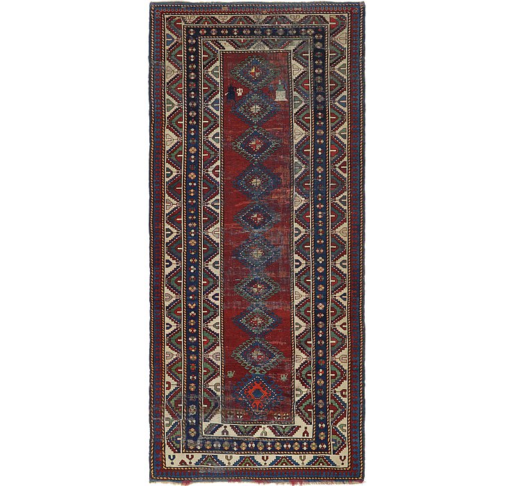 4' 10 x 11' 5 Shiraz Persian Runner Rug