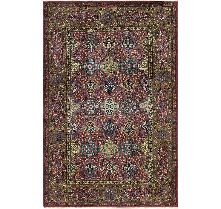 6' 4 x 9' 6 Kashmir Oriental Rug