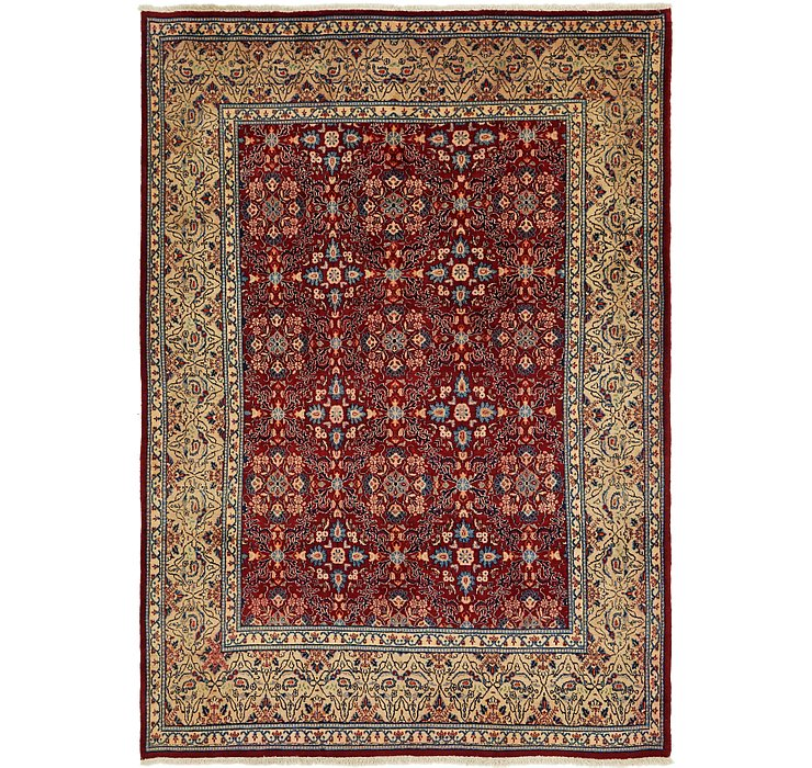 7' x 10' 2 Isfahan Persian Rug
