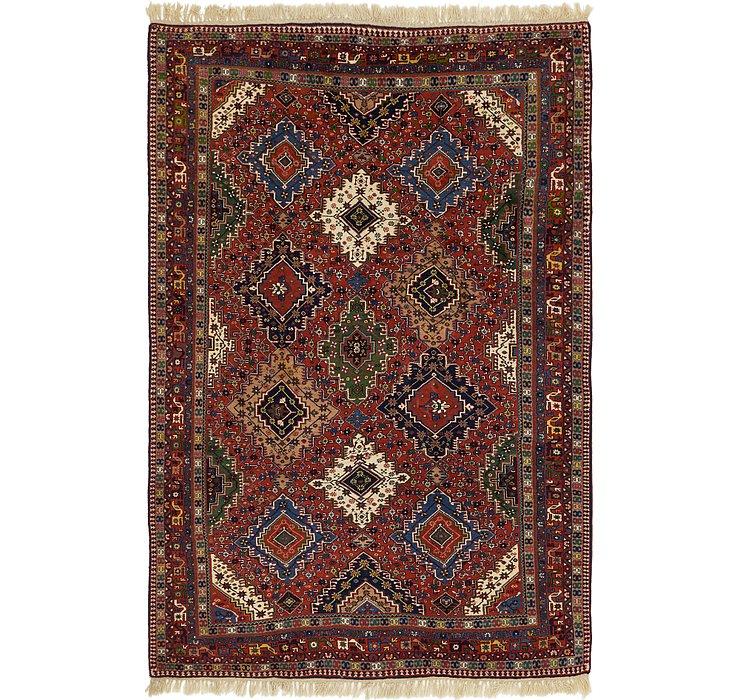 205cm x 312cm Yalameh Persian Rug