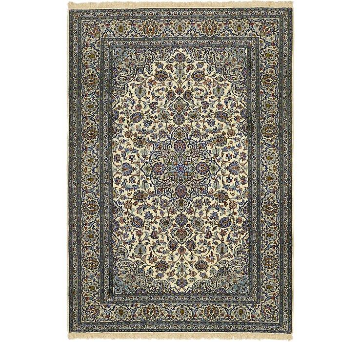 6' 10 x 9' 10 Kashan Persian Rug